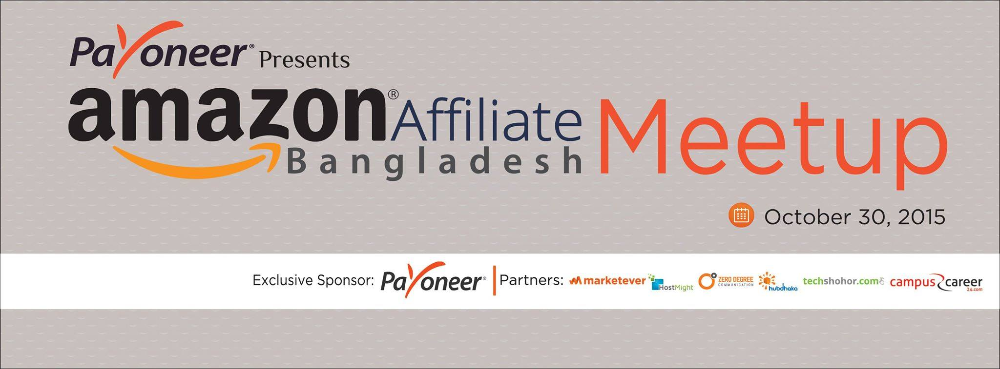 "Host Might is proud to be the hosting partner of ""Amazon Affiliate Bangladesh Meetup"