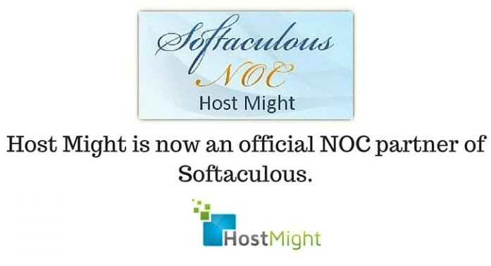 Hostmight.Com is now an official NOC partner of Softaculous