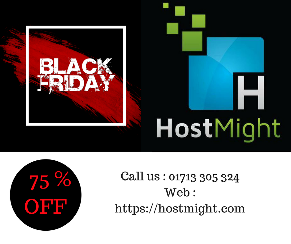 Blackfriday 2017 upto 75 % Discount