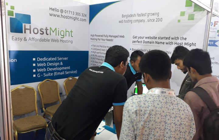 HostMight at Digital World 2017