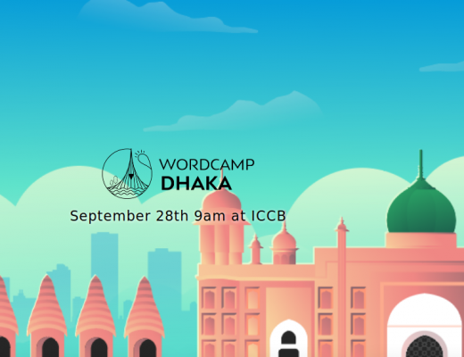 "Host Might is proud to be Sponsor of ""Wordcamp Dhaka 2019 '"