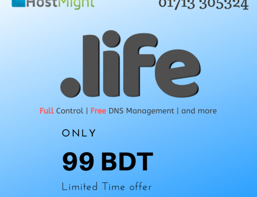 .life Domain Registration in Bangladesh